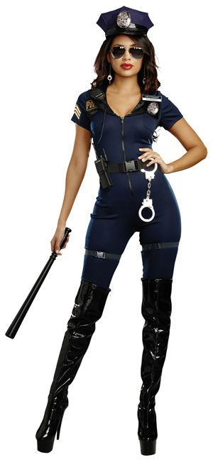 <Lady Cat> Lieutenant Ivana Misbehave Costume