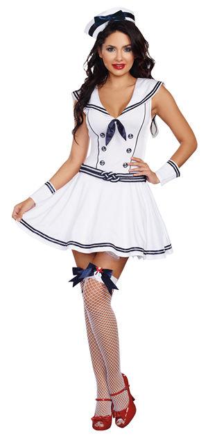 <Lady Cat> Boat Roclin Babe Costume