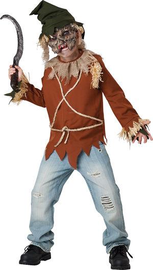 <Lady Cat> Psycho Scarecrow Kids Costume