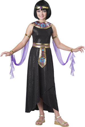 <Lady Cat> Enchanting Cleopatra Kids Costume