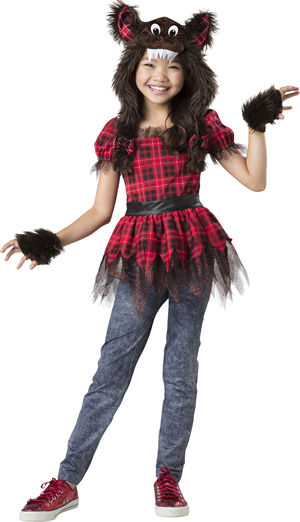 <Lady Cat> Werewolf Cutie Kids Costume