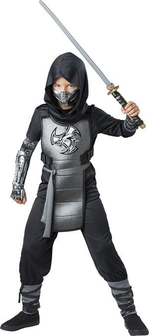 <Lady Cat> Combat Ninja Kids Costume