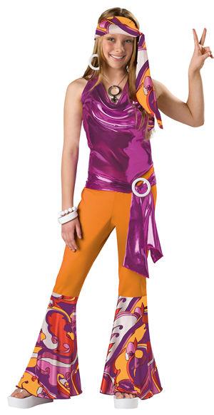 <Lady Cat> Dancing Queen Tween Costume