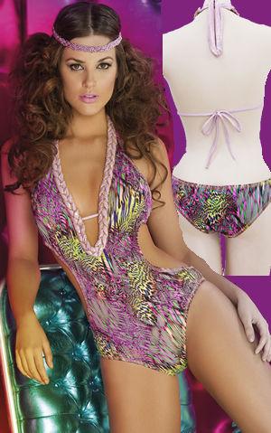 Lady Cat Express お勧め水着通販 LPRDISC30 Disco Diva Monokini Swimwear