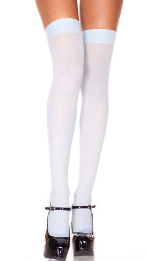 水着/下着/コスチューム/ダンスウェア/ドレスのオークション Opaque Thigh Hi