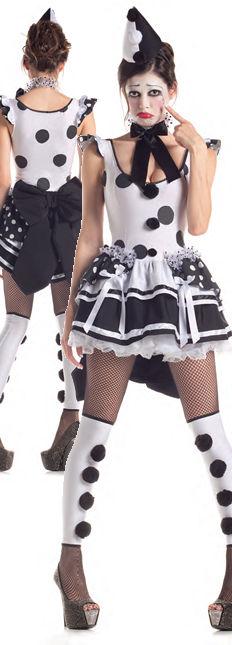 水着/下着/コスチューム/ダンスウェア/ドレスのオークション Pierrot Sad Clown Costume
