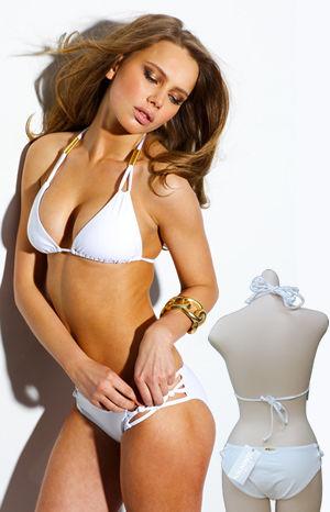 Lady Cat Express お勧め水着通販 LSV4848WHT-4762WHT Spider Bikini White