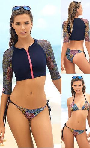 Lady Cat Express お勧め水着通販 LEP6986 Three Piece Swimsuit