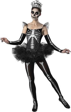 水着/下着/コスチューム/ダンスウェア/ドレスのオークション Skeleton Ballerina Costume