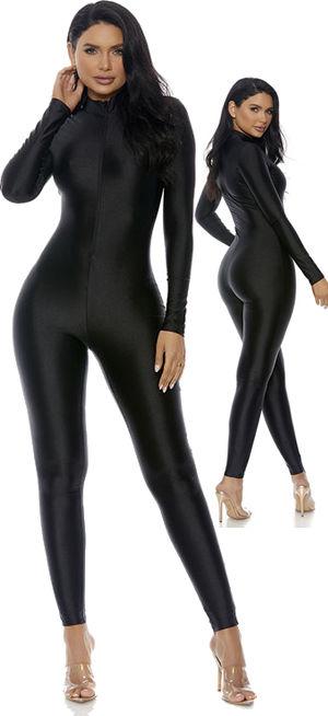 水着/下着/コスチューム/ダンスウェア/ドレスのオークション Mock Neck Jumpsuit