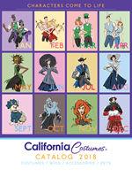 California Costumes 2018ハロウィンコスチュームカタログ